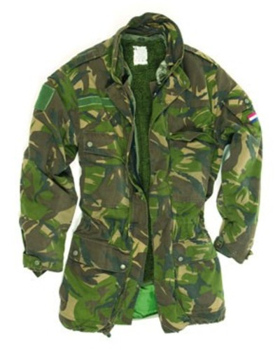 Dutch 3-in-1 DPM pile lined Camo G-tex Parka