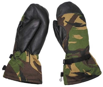 Dutch Army DPM Mitts Woodland