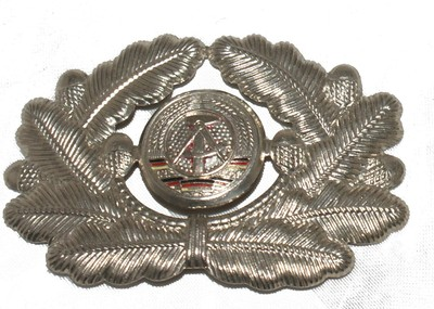 East German Cossack Metal Cap Badge