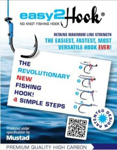 Easy2Hook fishing hooks no knots survival