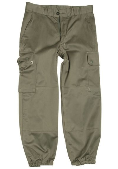 French F1 / F2 olive green Combat trousers