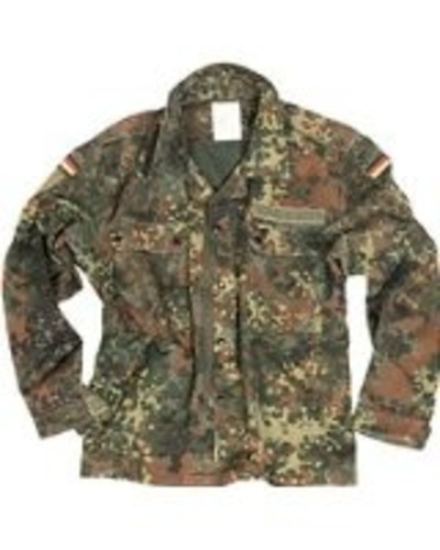 German Flecktarn Field Shirt