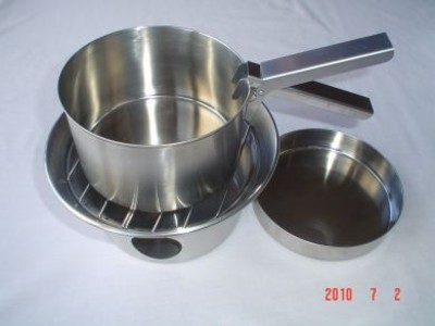 Kelly Kettle® Cook Set (Stainless Steel) for Base Camp or Scout Models
