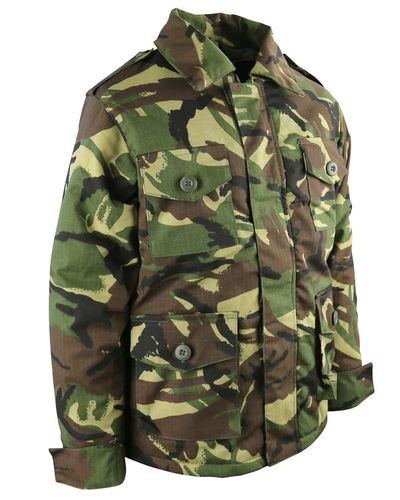 Kids Camo Safari Jacket