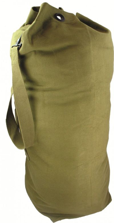 Olive Green Army Kit Bag NEW