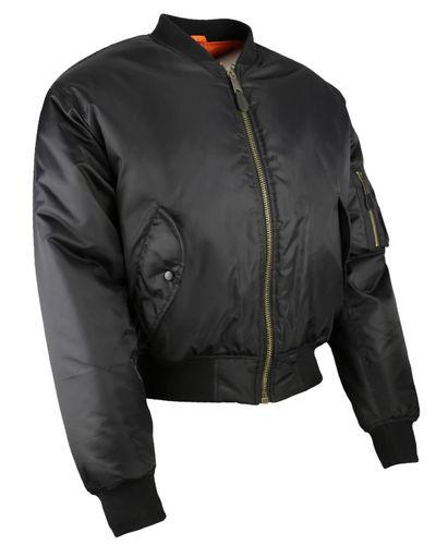 MA1 Flying Jacket Black