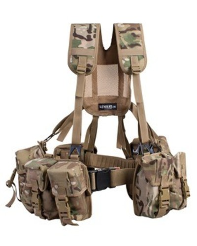 PLCE WEBBING SET MULTICAM- 6 piece
