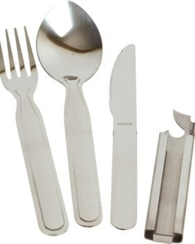 NATO Knife Fork Spoon Set