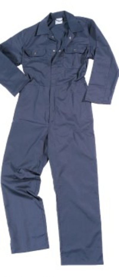 Navy Blue Overalls Coveralls Bolier Suit
