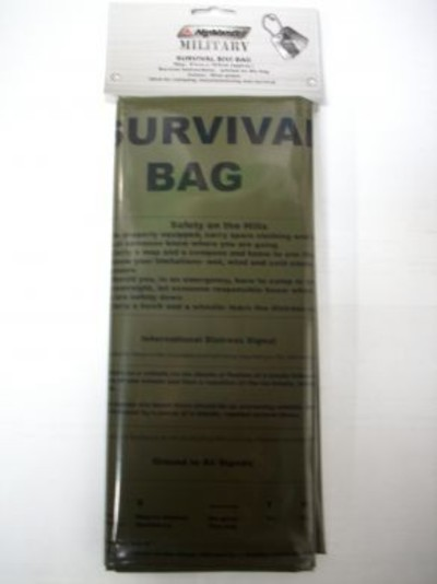 Military Survival Bag olive green