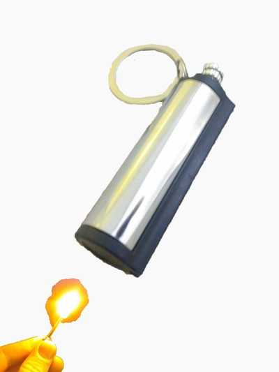 Permenant match keychain Lighter