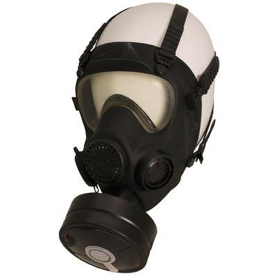Polish army Mp5 Gas mask respirator and bag
