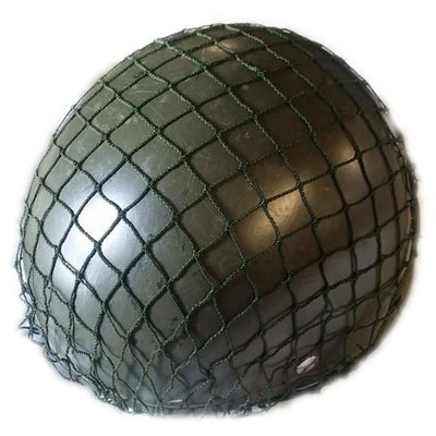 Polish army helmet net