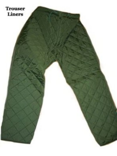 Quilted Lined Trousers