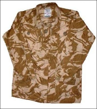 British Army Ripstop Solider 95 Desert Camo Jacket Smock
