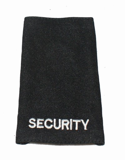 Pair Security Epaulettes