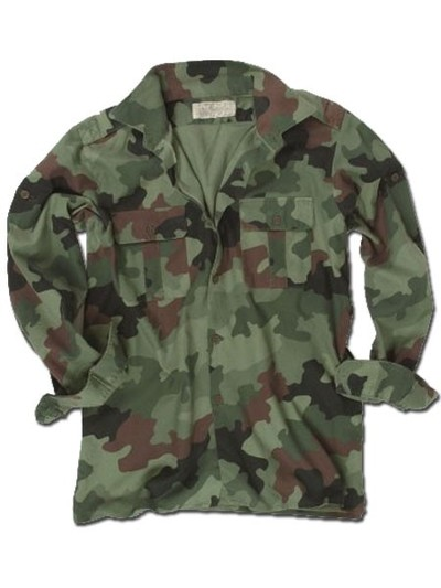 Serbian Army Field Shirt