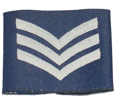 RAF Sergeant Rank Slide Epaulette