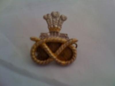 Staffordshire Regiment Metal Cap Badge