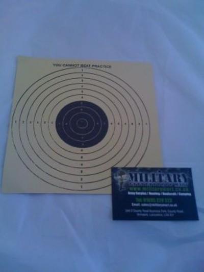Square Paper Target