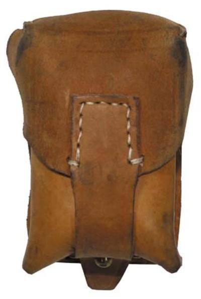 Single Leather belt pouch