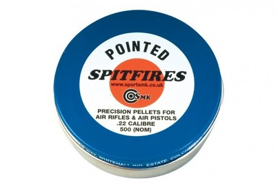 500 x Spitfire Air rifle Pellets - Pointed
