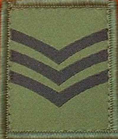 Staff Sergeant Helmet Patch