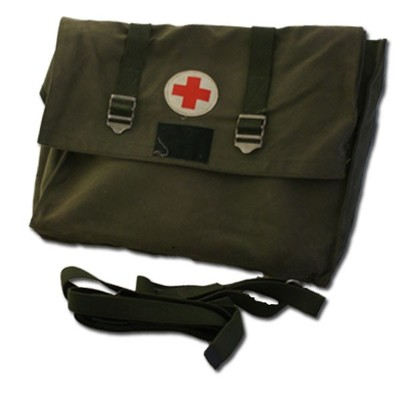 Swedish Army Field first Aid & tramua Kit