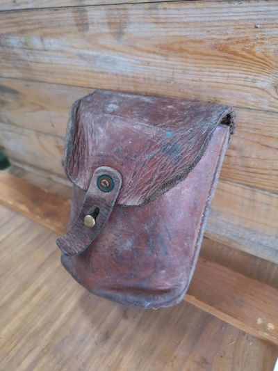 Swedish Army Model 39 Mauser Magazine Leather Pouch