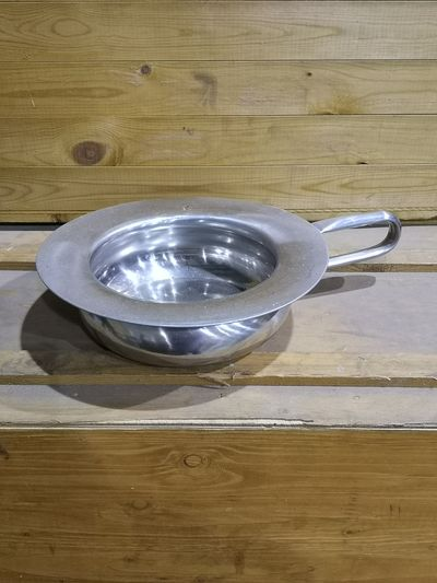 Swedish Military Hospital Stainless steel bed pan
