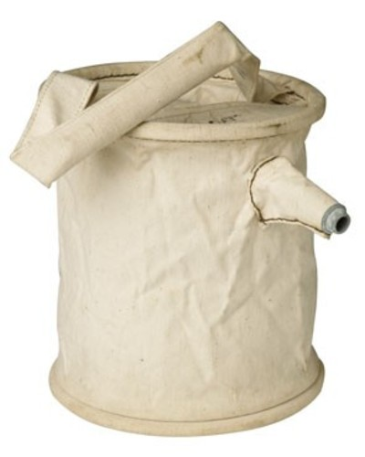 Swedish canvas water bucket