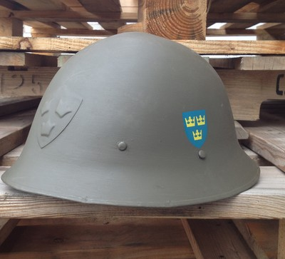 WW11 Swedish M21 Helmet