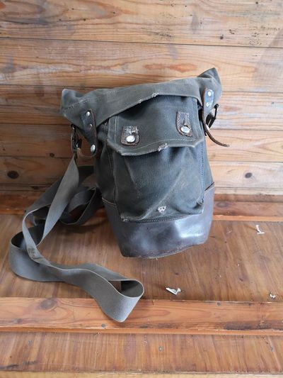 Swedish Army M39 Model 39 Gas Mask Bag - Grey