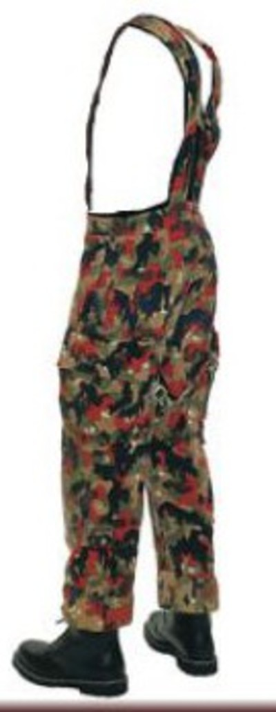 Swiss alpenflauge M70 camo trousers and braces