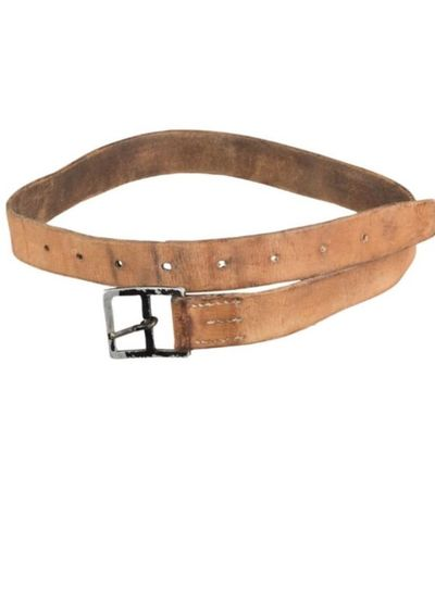 Swiss army 33mm Leather trouser belt