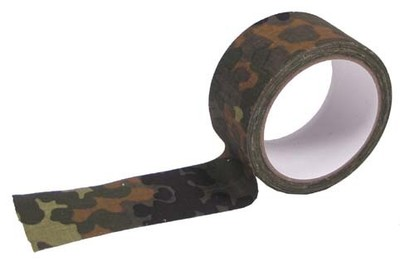 Flecktarn Camo fabric Tape