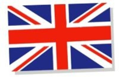 Large 11x8 inch Union Jack Decal Sticker