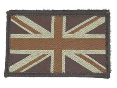 Union Jack Patch PCS Tan