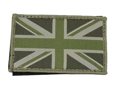 Union Jack Patch Subdued Mono