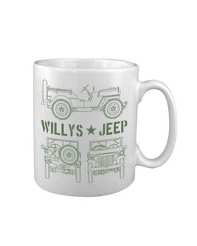 Willys Jeep Mug