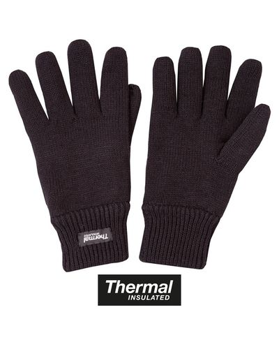 Acrylic Wool Gloves - Olive