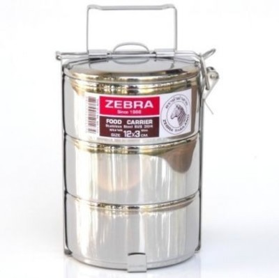 Zebra Head 3 Tier Food Carrier