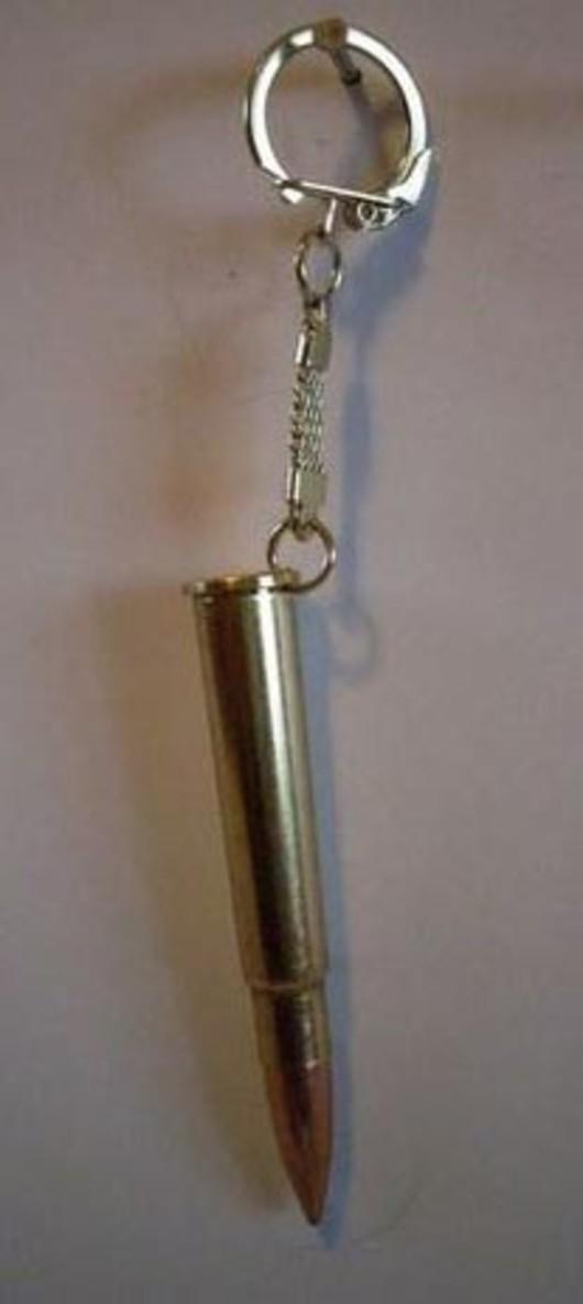 .303 Large Bullet Keyring