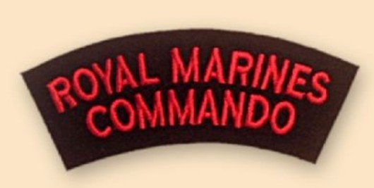 Royal Marines Commado Badge
