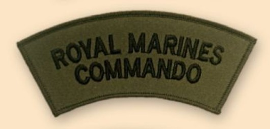 Royal Marines Commado Subdued Badge
