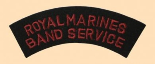 Royal Marines Band Service Badge