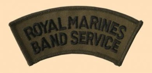 Royal Marines Band Service Subdued Badge