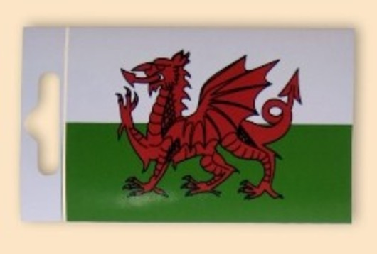 Welsh Dragon Sticker
