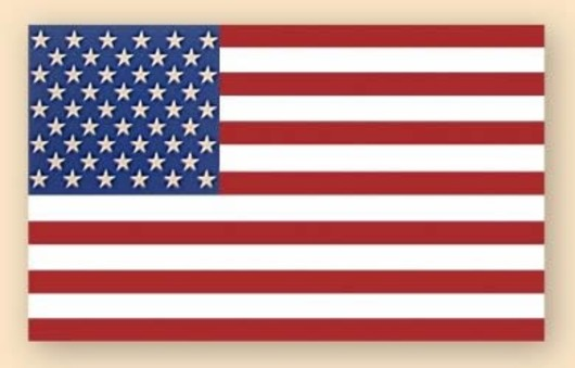 U.S.A Stars and Stripes Decal Sticker