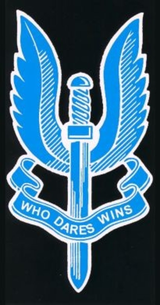 S.A.S Special Air Service Regiment Decal Sticker